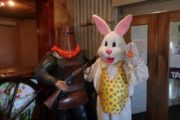 Easter Bunny with Ned Kelly