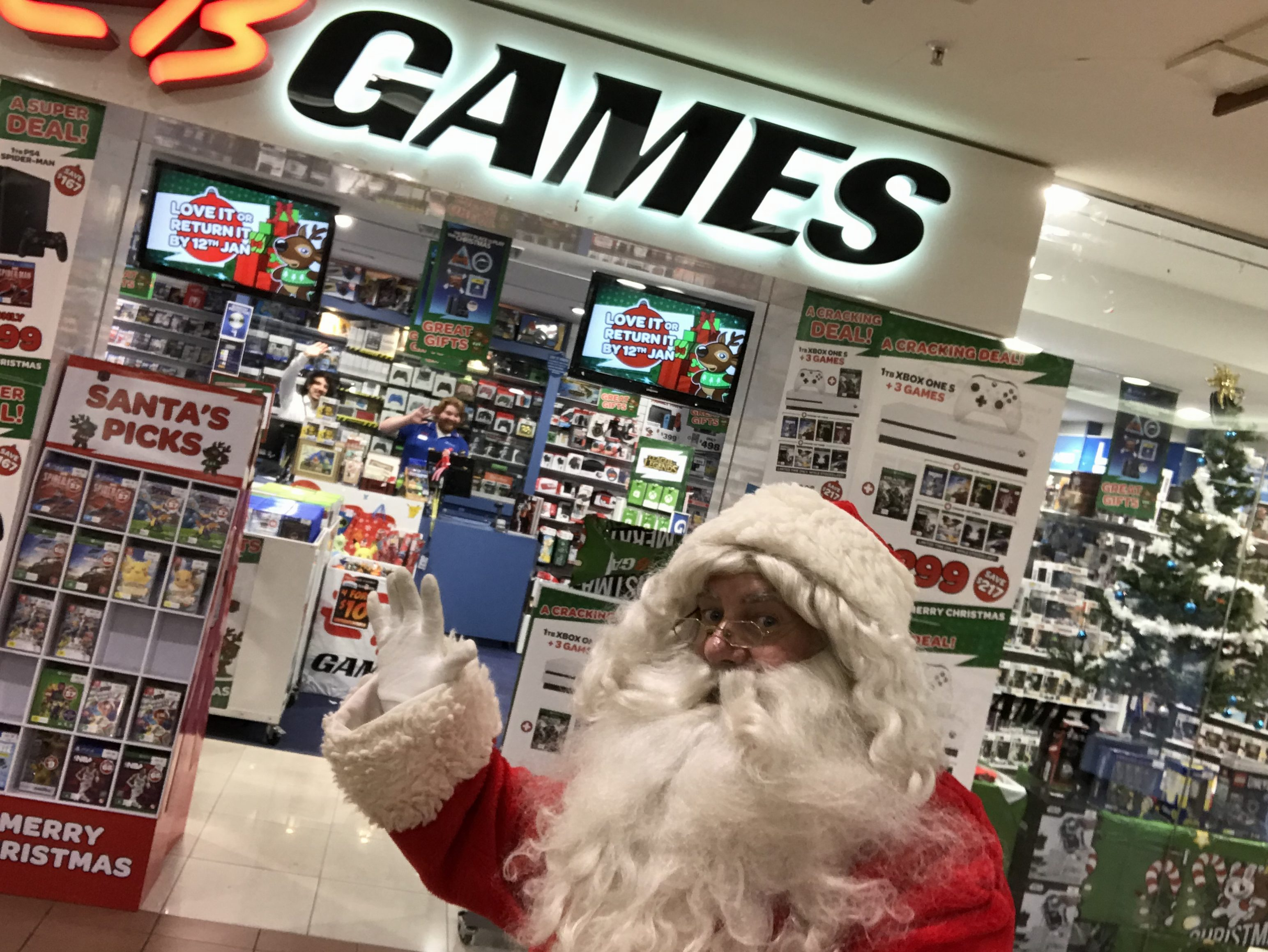 Santa's Elves have been busy at EB Games