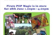 Pop Magic – Magical Entertainer – Poster for BigW in Mirrabooka.