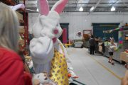Easter Bunny at Bunnings