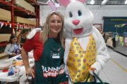 Pop Magic – Easter Bunny Visits Bunnings