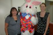 Easter Bunny with Centro Dianella Management