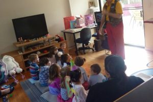 Kids Birthday Parties often include a magic show by Pop Magic