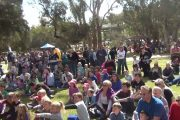 Pop Magic performing at Toodyay International Food Festival